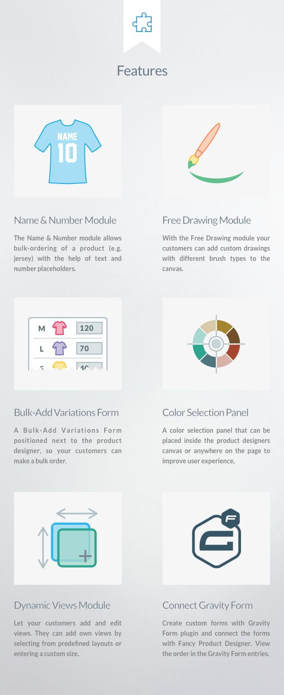 Fancy Product Designer Plus Add-On | WooCommerce WordPress - 1