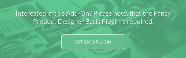 Fancy Product Designer Plus Add-On | WooCommerce WordPress - 3